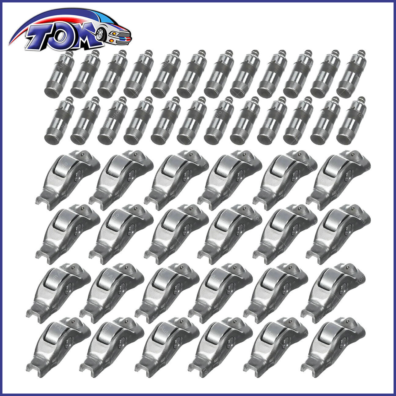 Engine Rocker Arm And Lifters Set Fits 04 10 Ford Explorer