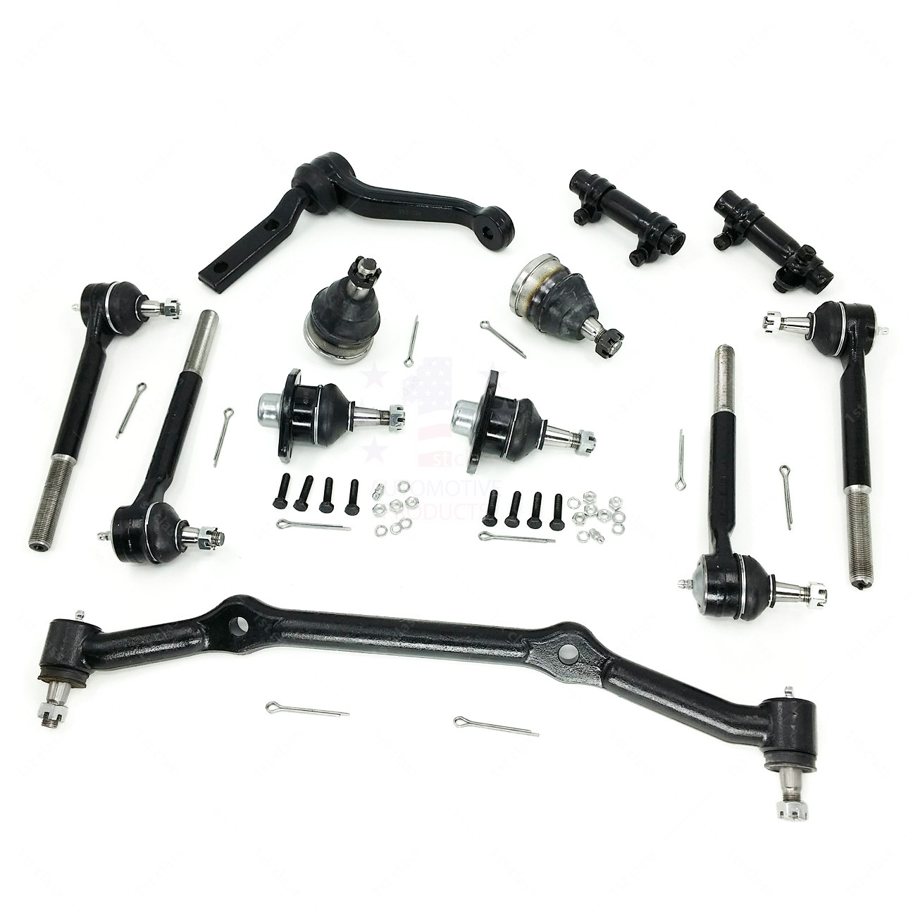 New 12pcs Suspension Kit For 2wd Chevy S10 Blazer Gmc