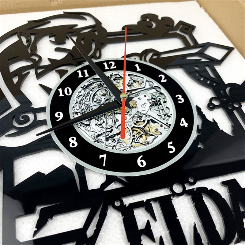 Fortnite Game Characters Retro Vinyl Record Wall Clock ...