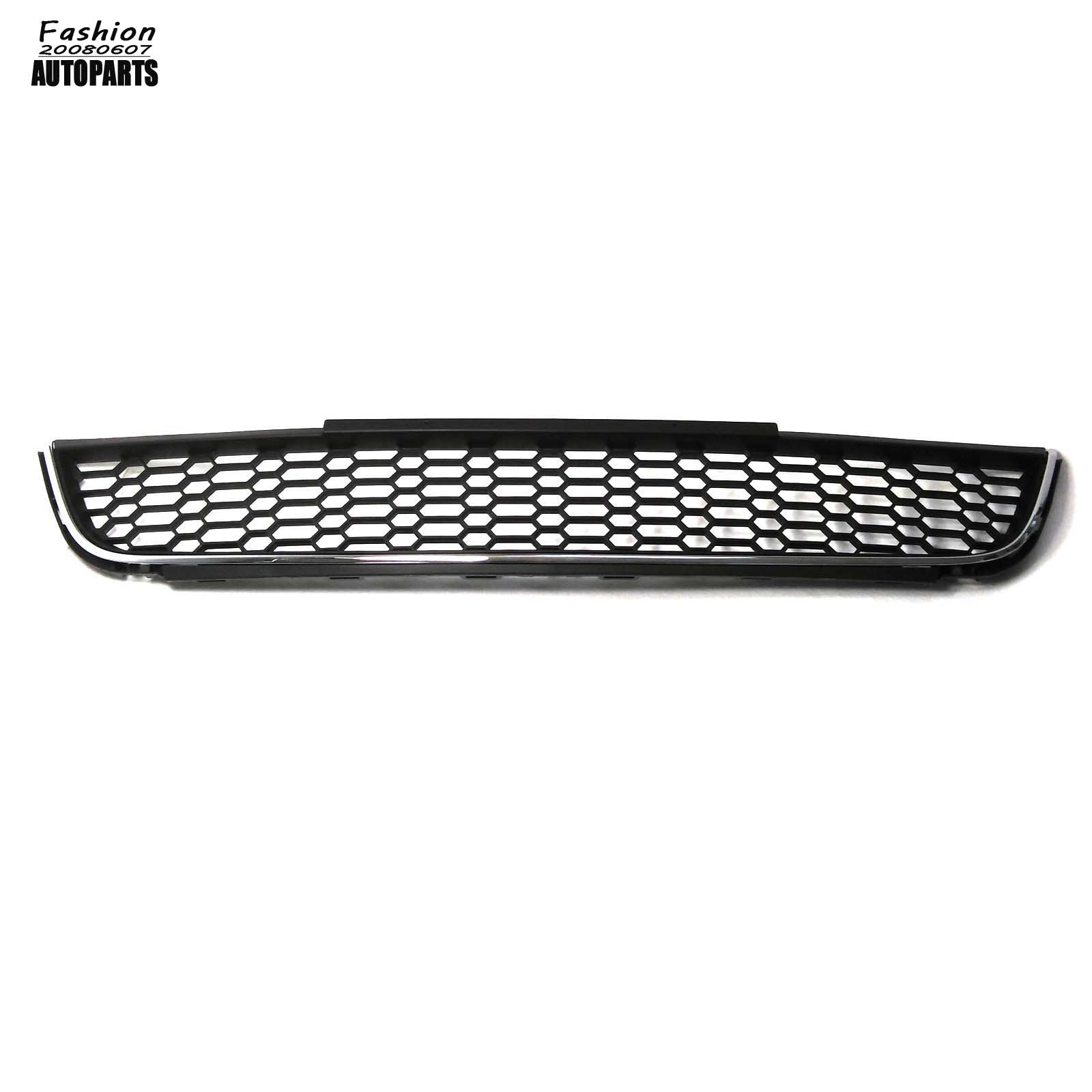 Front Chrome Bumper Honeycomb Lower Grille Assembly For Vw