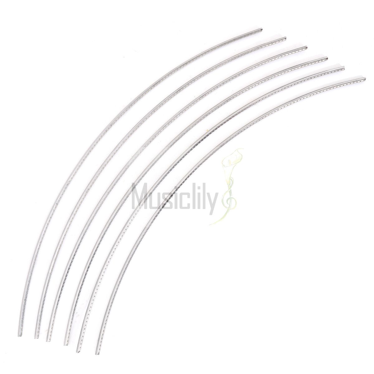 Sintoms 2 5mm Medium Stainless Steel Fret Wire Set For