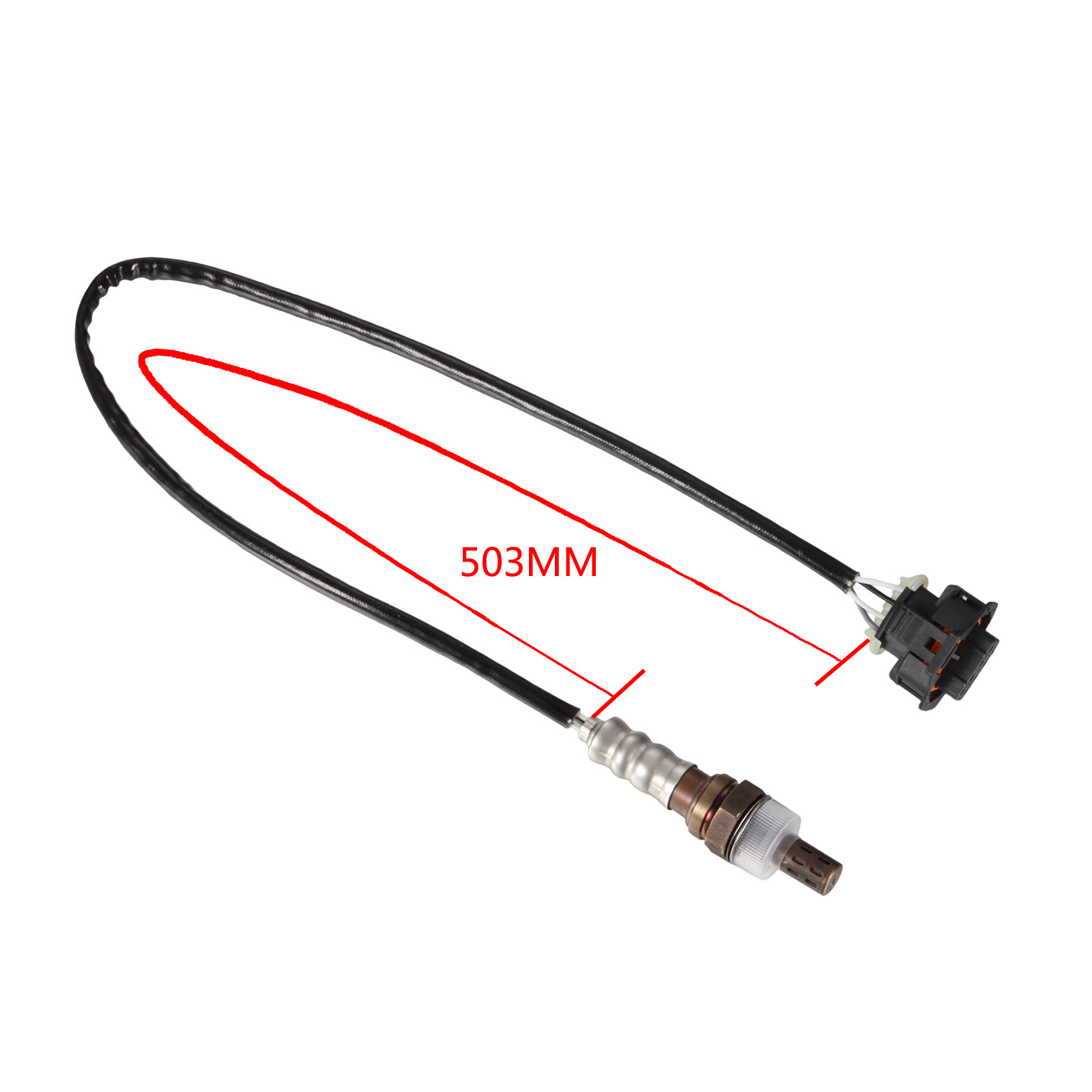 Rear 4 Wire Lambda Oxygen O2 Sensor For Vauxhall Astra