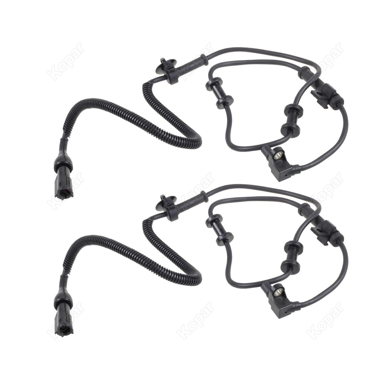 2x Abs Wheel Speed Sensor Front For 99 04 Ford F 250 F 350