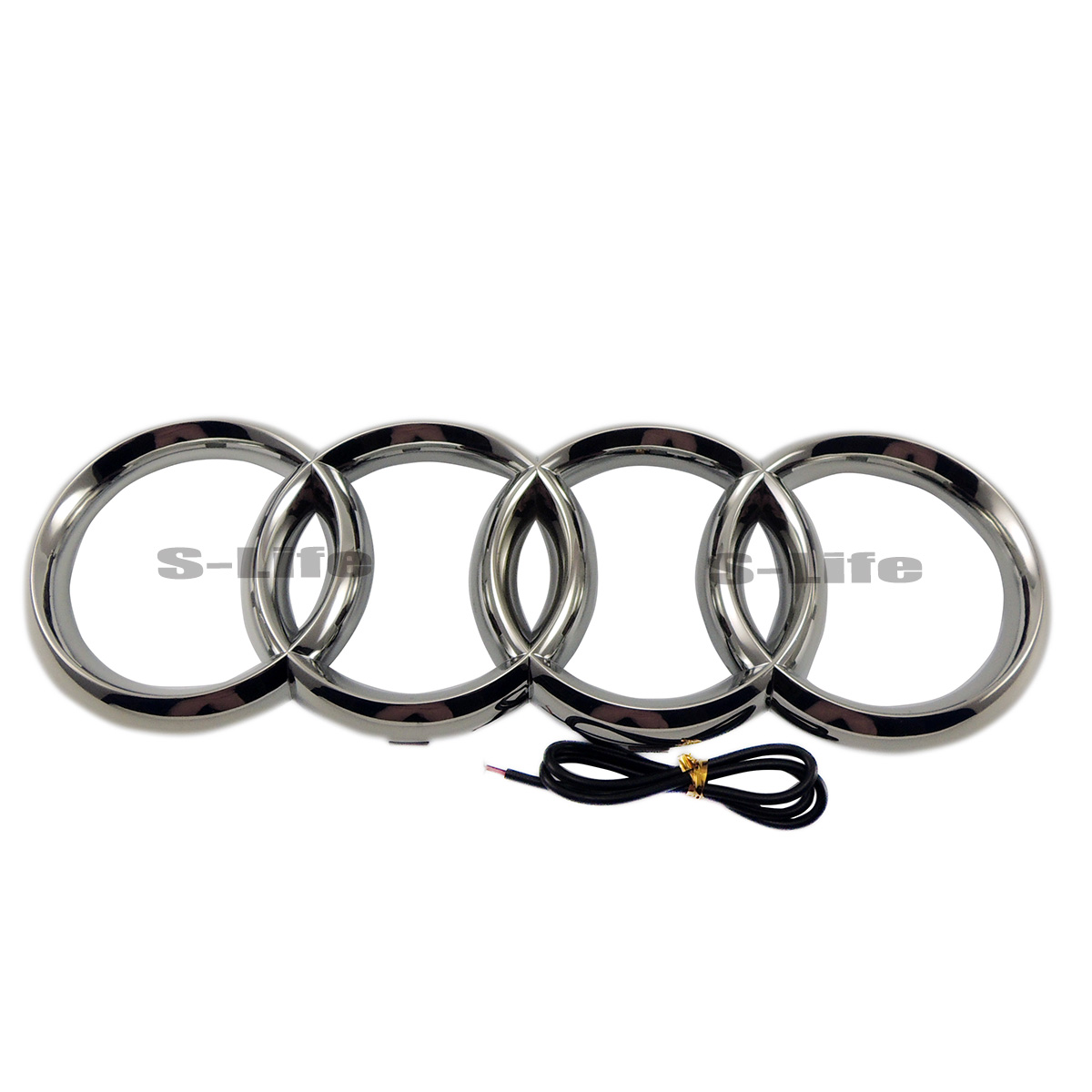 4d Illuminated Car Led Grille Blled Logo Emblem Light For