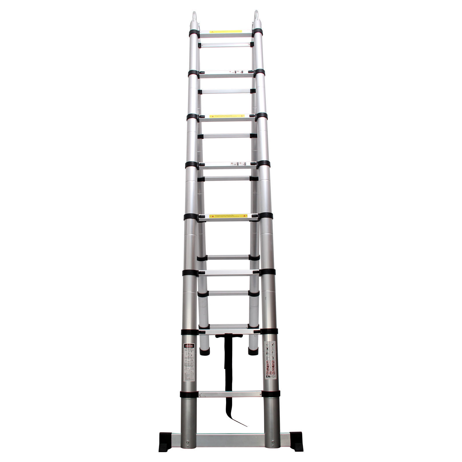 Quality 5m Multi Purpose Telescopic Ladder Extendable Extension Aluminium Ladder