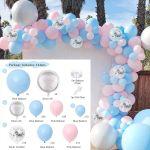 Macaron Blue Pink Balloon Garland Arch Birthday Wedding Party Baby Shower Decor Ebay