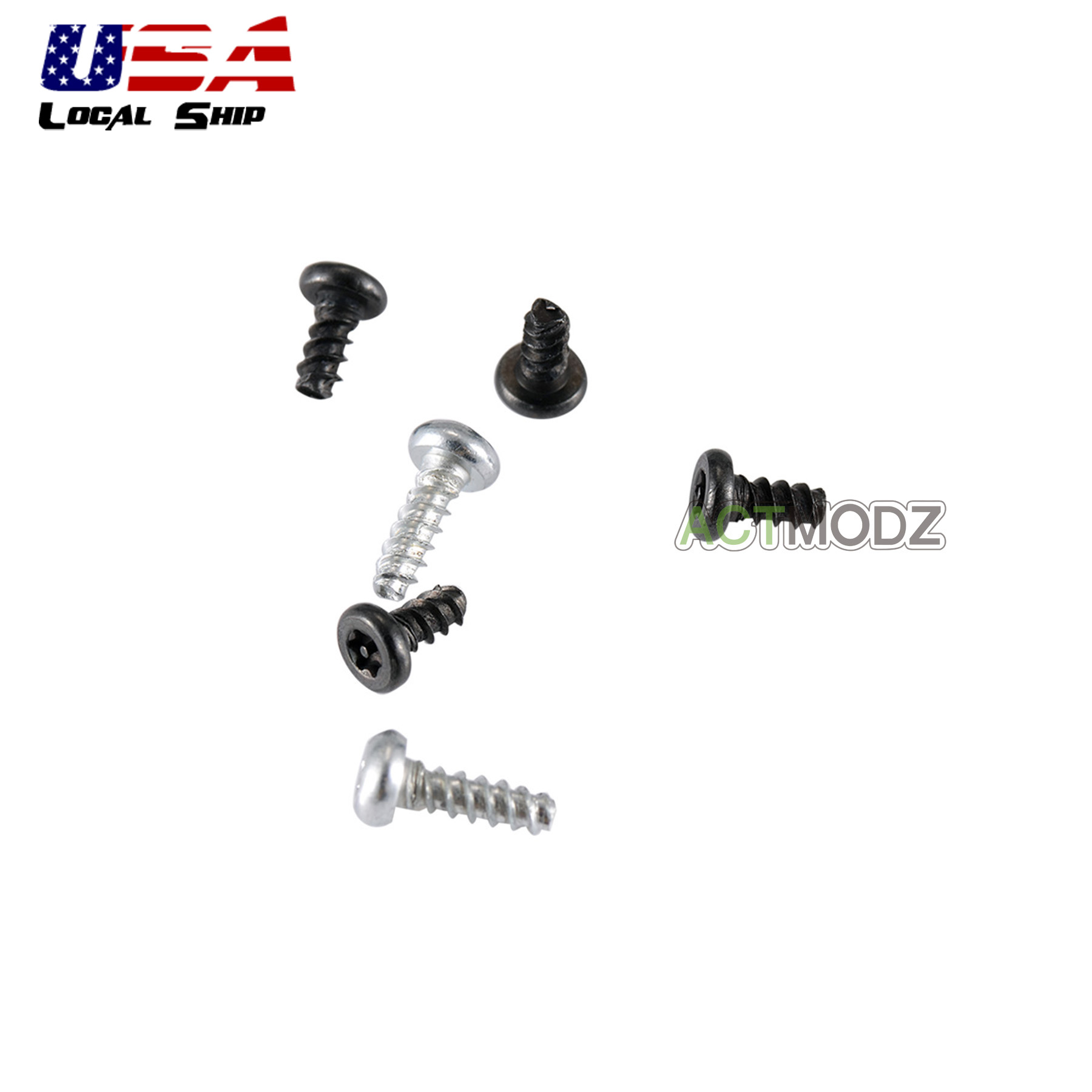 6pcs Replacement Screws One Set For Playstation 4 Ps4