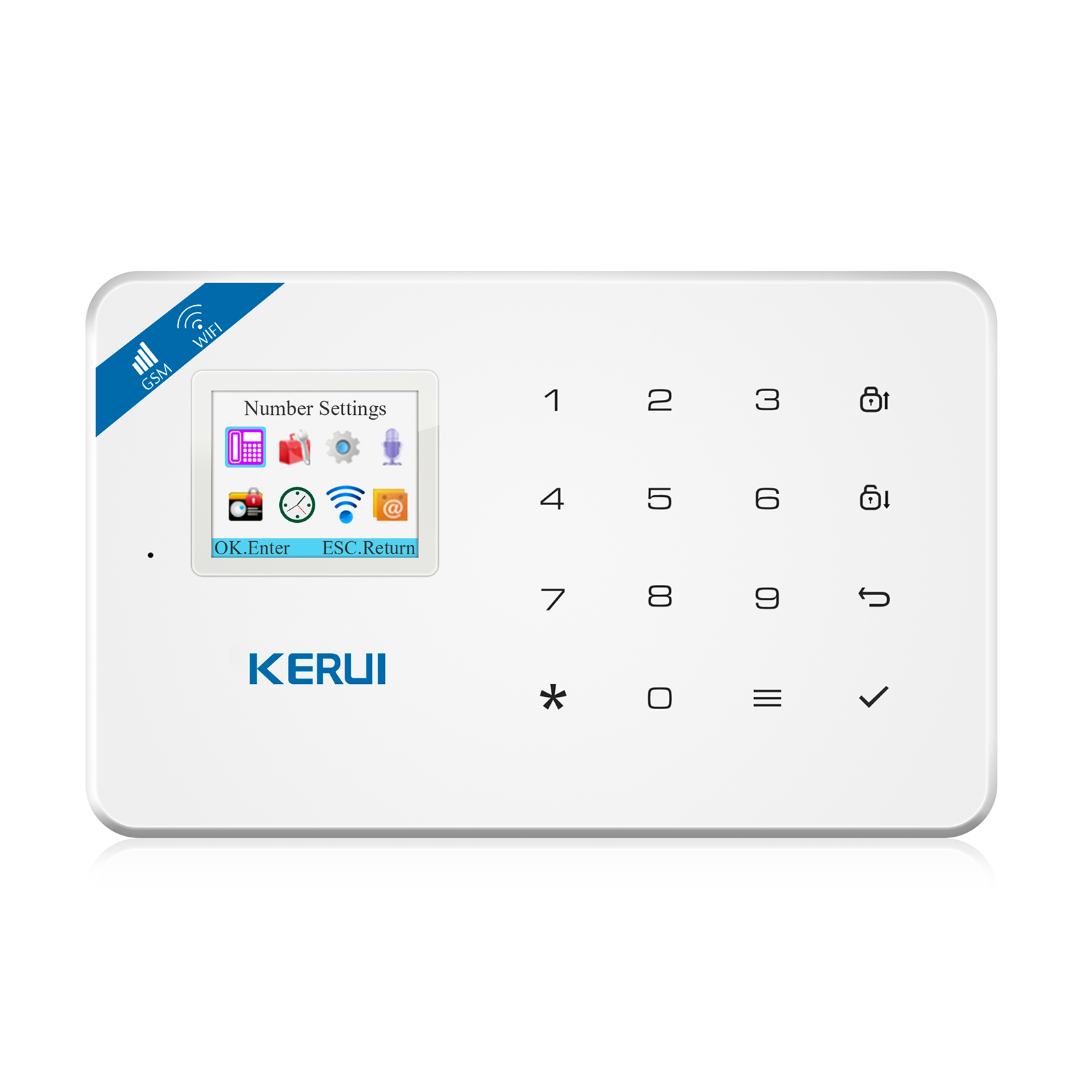 Kerui All Series Alarm Accessories For K7 W1 W2 G18 G19