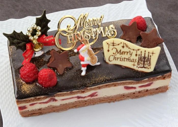 クリスマスケーキ・パティスリー『TakaYanai』ブッシュ・ド・ノエル