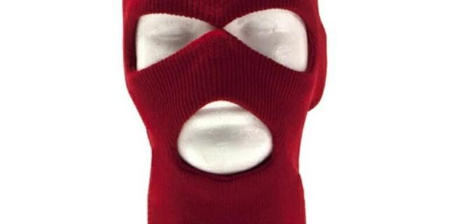冬の必需品 とても暖かい 男女共用 3ホール 目出し帽 ビーニー ニット帽 冬の外出に