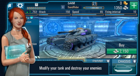 Iron Tanks