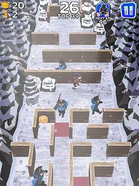 Winter Fugitives stealth game