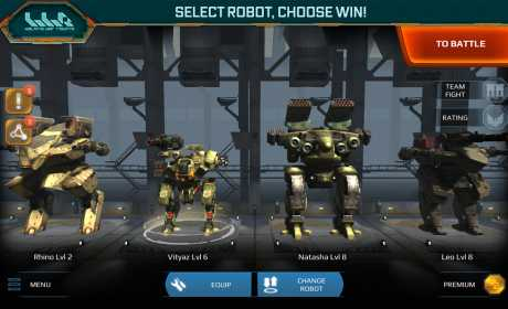 Walking War Robots