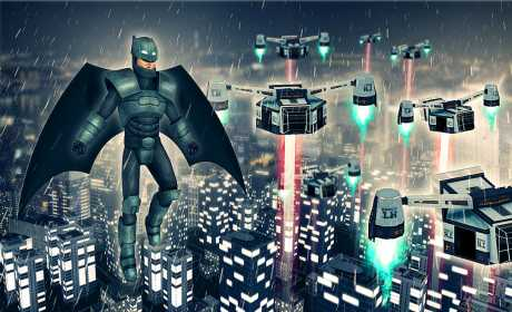 Bat Superhero Battle Simulator