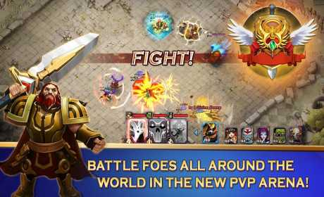 Clash of Lords 2 Guild Brawl Apk Mod