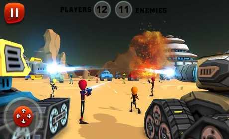 Creepy Aliens Battle Simulator 3D