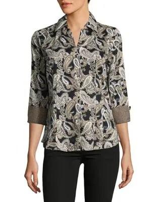 Taylor Cotton Button-Down Shirt