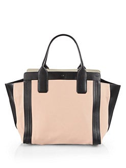 Chloe - Alison East West Colorblock Tote