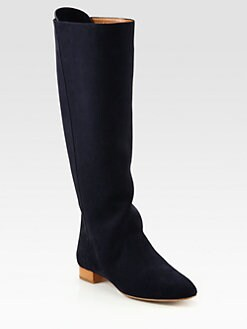 Chloe - Suede Knee-High boots