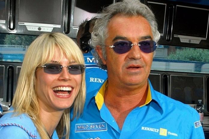 Leni is the daughter of Flavio Briatore.