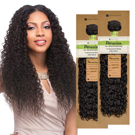 sensationnel unprocessed peruvian virgin remy human hair weave bare natural french curl