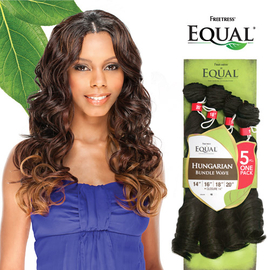 freetress equal synthetic hair weave brazilian hungarian bundle wave 5pcs samsbeauty