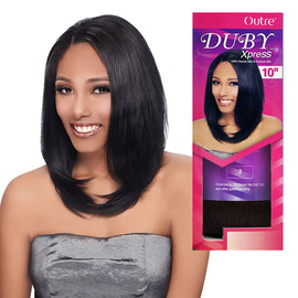 human hair blend weave outre duby xpress 10 samsbeauty