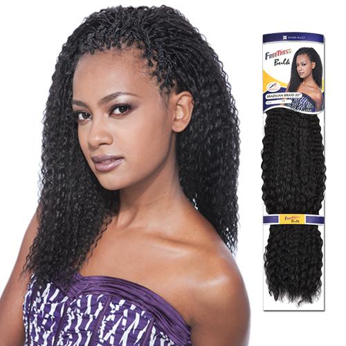 FreeTress Synthetic Hair Crochet Braids Brazilian Braids
