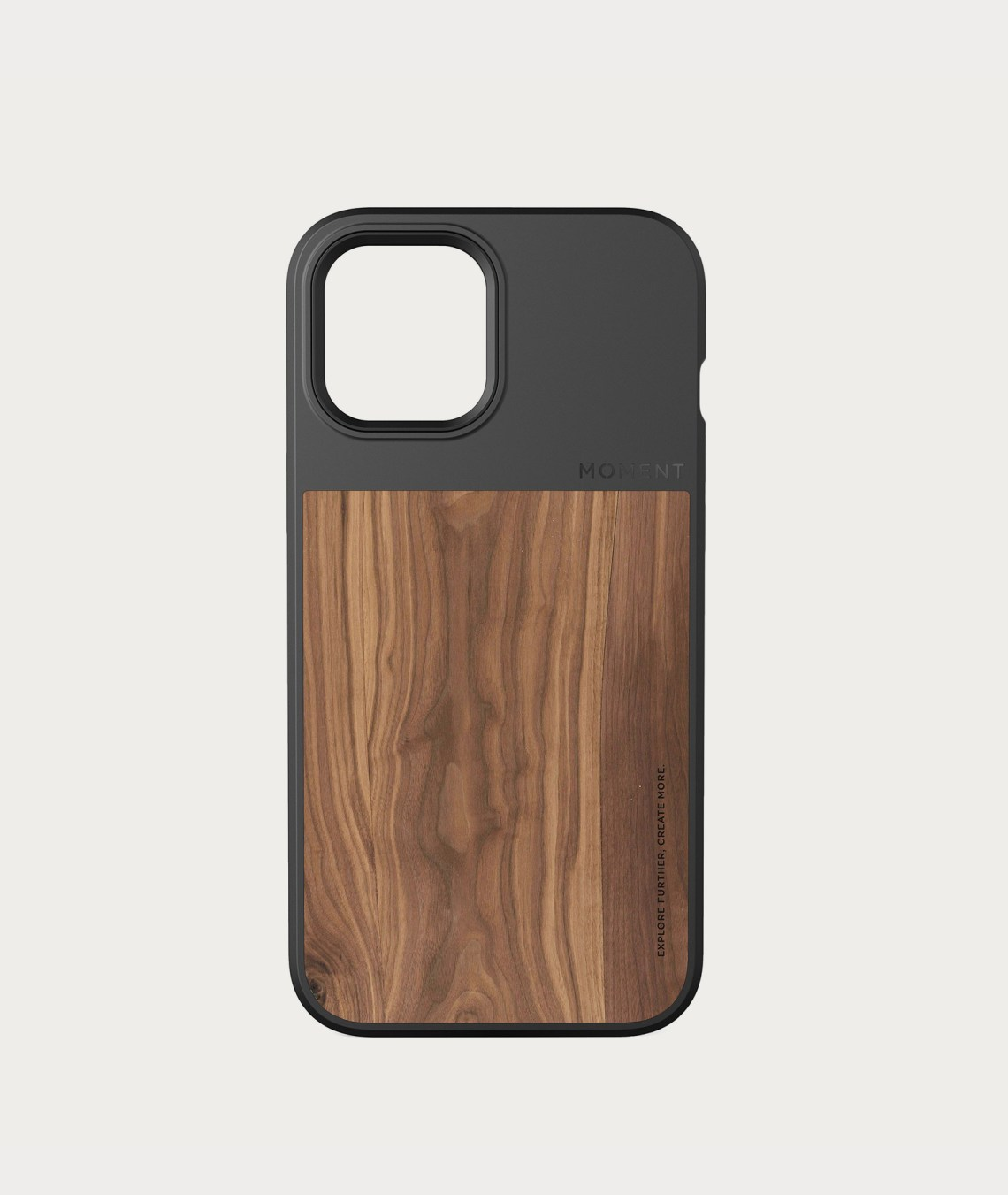 311 123 Moment iPhone12ProMax Case walnut wood thumbnail