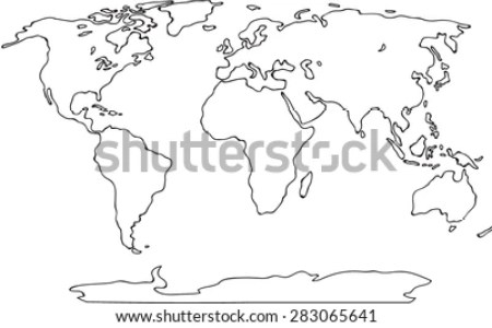 World map outline world map world map world photography day full world map vectors photos and psd files free download blue world map world physical map black and white google search geography for world robinson global freerunsca Image collections
