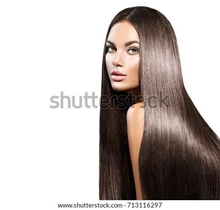 royalty free hair beauty woman with long healthy stock photo avopix
