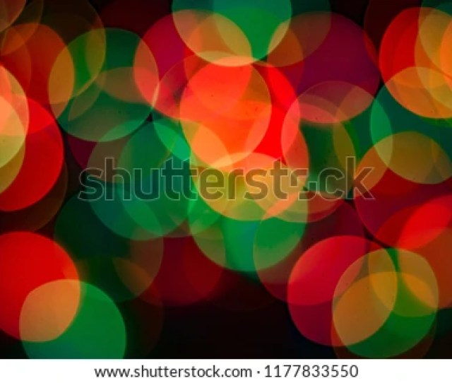 Colorful Bokeh Background With Defocused Blurred Out Lights At Night Concept For Festival Lights Like