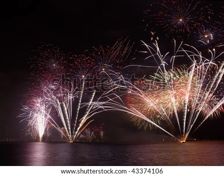 Fireworks in Doha