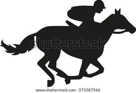 Jockey Logo Free Vector 4Vector