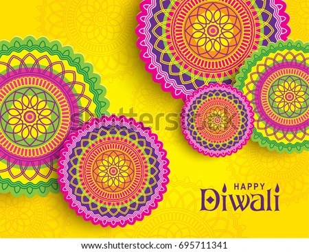 Happy Diwali Greeting Cards Animation