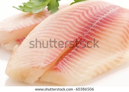 stock photo : Tilapiini Fillet