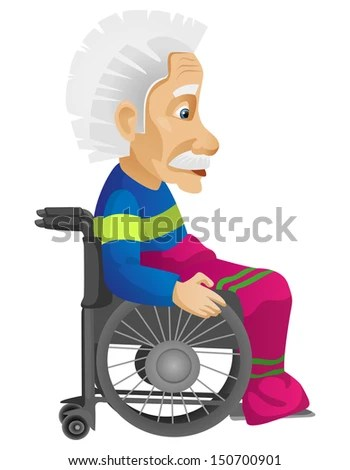 Old Man - stock vector