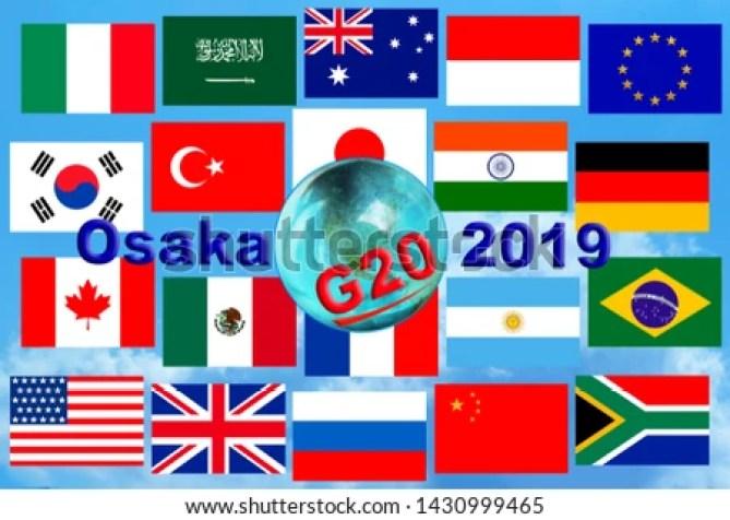 Image result for G20 -2019 IN OSAKA