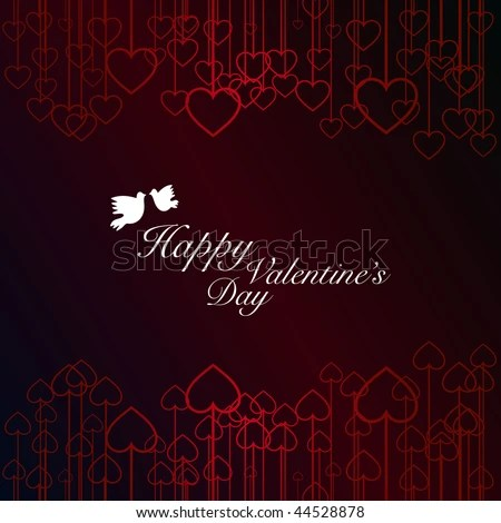 stock vector : San Valentine's Day card.