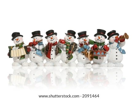 go back gt gallery for gt group of snowmen clipart