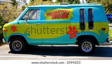 Mystery Machine Van - stock photo