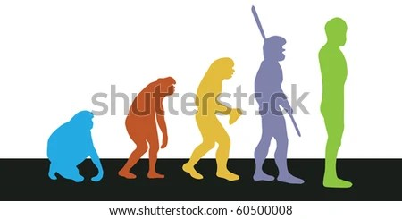 stock photo : Evolution
