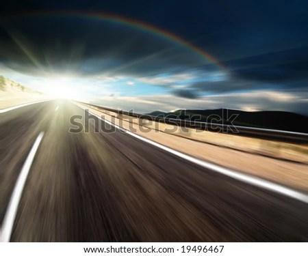 stock photo : Way to light