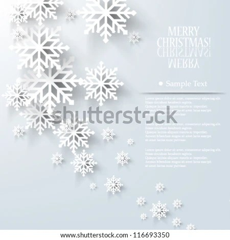Vector illustration abstract Christmas Background - eps10 - stock vector