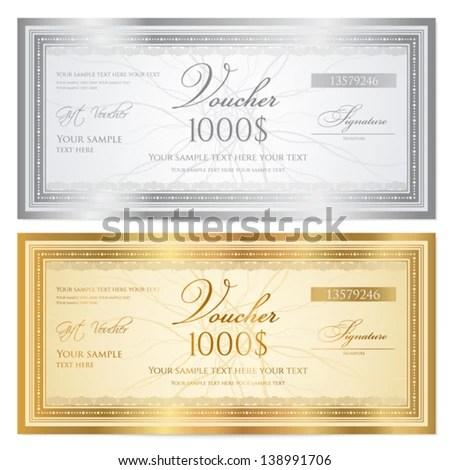Doc400192 Money Voucher Template Money Coupon Template Blue – Prize Voucher Template