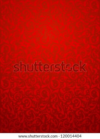 Christmas Background Of Royal Red Color Vector Texture Useful Seamless Pattern For Xmas