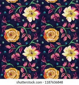 Allover Flowers Pattern