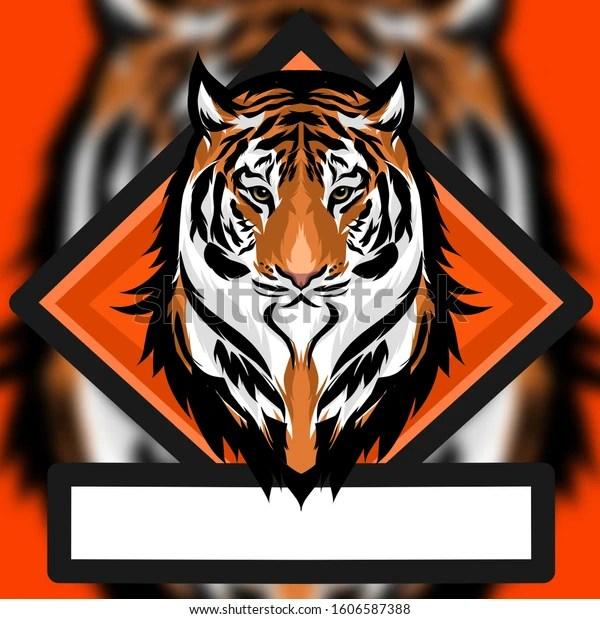 Amazing Esport Logo Tiger Hd Stock Illustration 1606587388