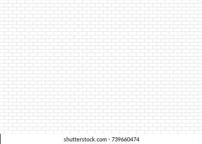 https www shutterstock com image illustration ceramic brick tile wall white pattern 739660474