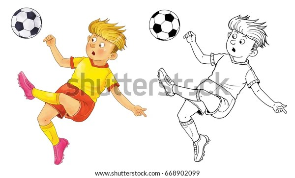 soccer coloring page # 80